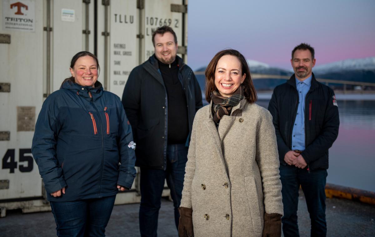 Bilde av Anna Hultgren Olsen, Stein Inge Pedersen, Ane Høyem og Raymond Løveng
